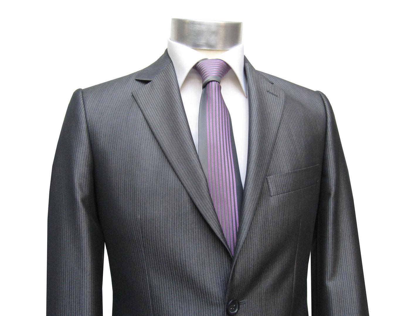 striped slim fit men suit adrian muga wedding clothing. Black Bedroom Furniture Sets. Home Design Ideas