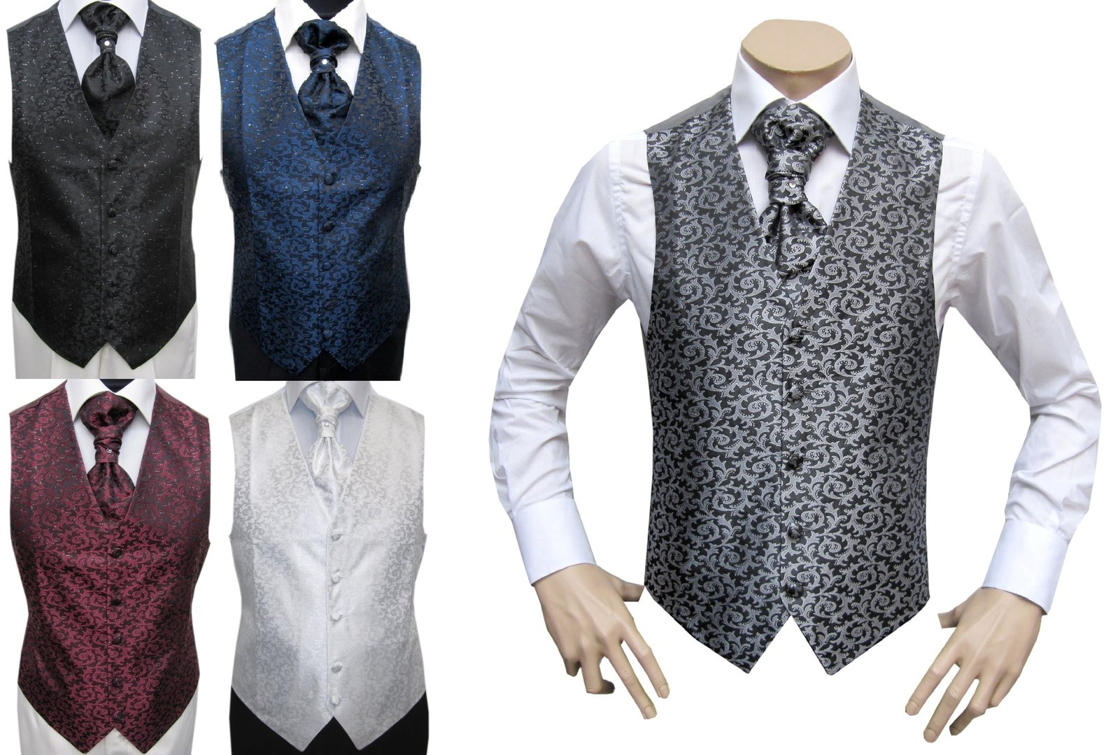 mariage homme gilet cravat gilet mmuga. Black Bedroom Furniture Sets. Home Design Ideas
