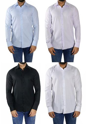 slim fit hemd extra langarm und extra langer rumpf k ln. Black Bedroom Furniture Sets. Home Design Ideas