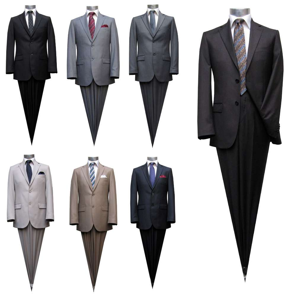 low priced 65e8a 78915 Muga Herren Anzug 120s Slim fit - Herrenausstatter