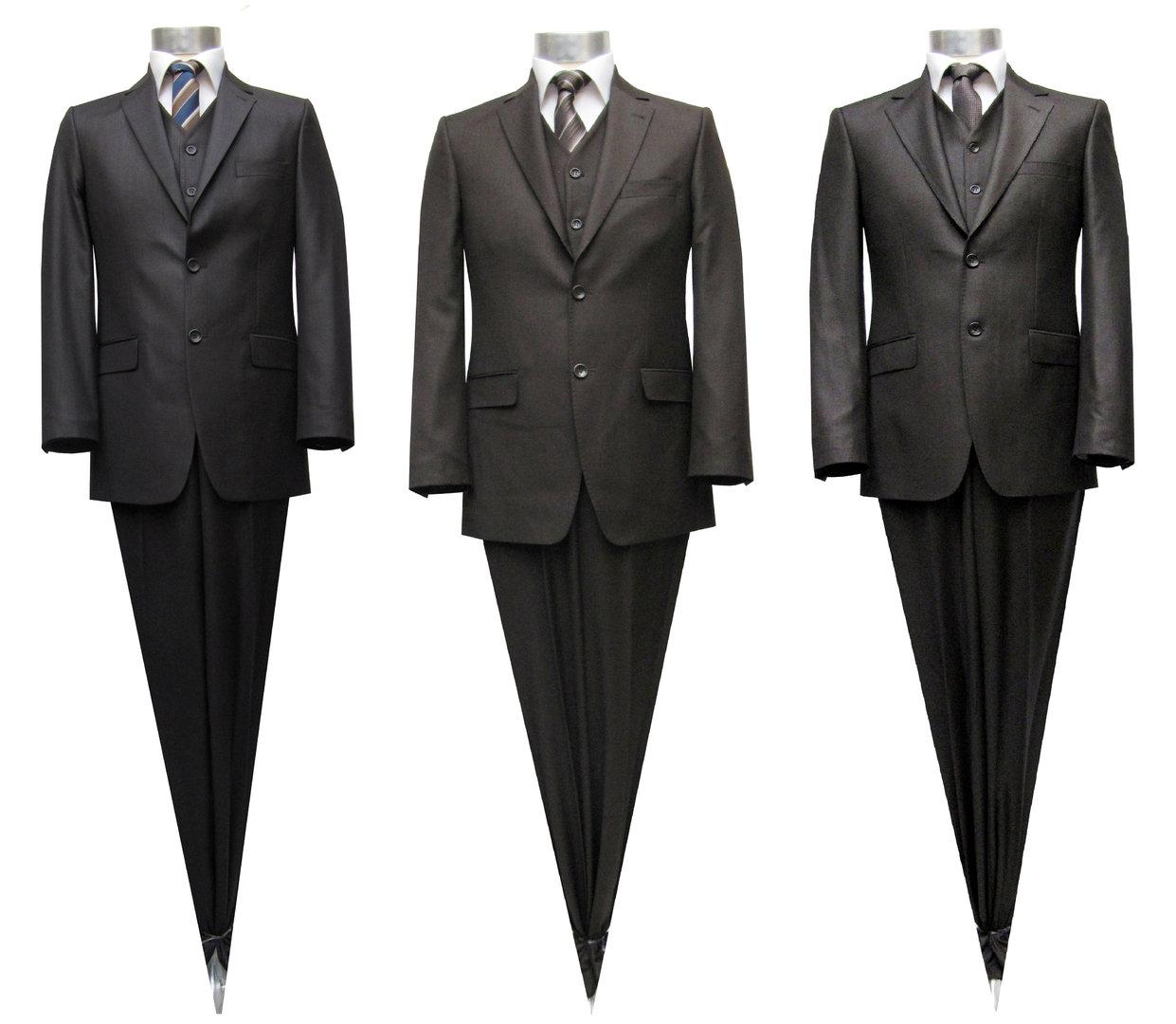 Muga 2 Knopf Herren Anzug Brauntöne Herrenausstatter