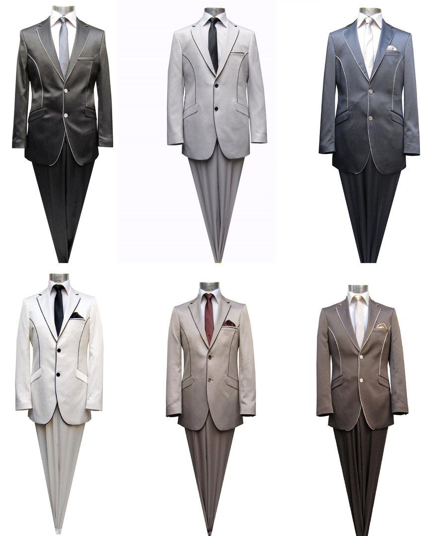 Muga Elegante Hochzeit Anzug Herrenausstatter
