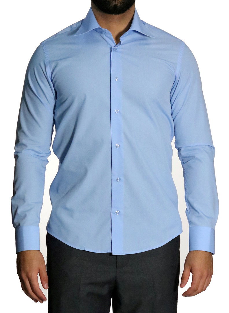 Slim fit extra long sleeve shirts - Muga dress shirt