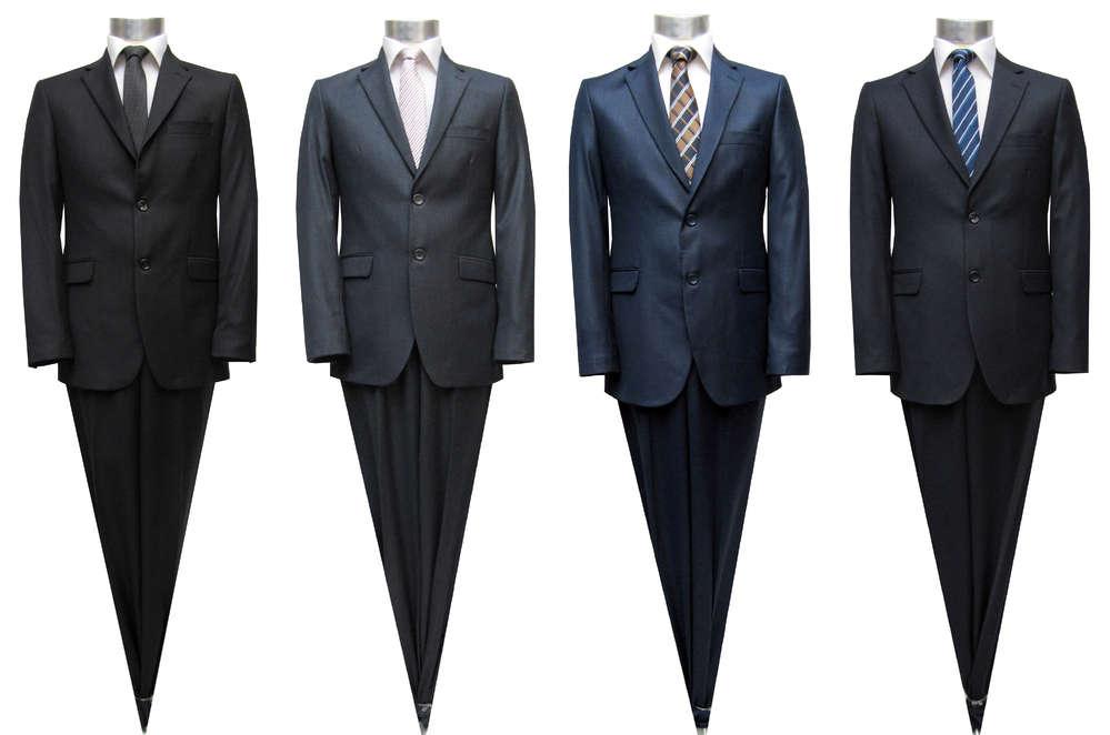 finest selection a4ac3 b2a7d Muga Elegante Herren Anzug Slim-fit - Herrenausstatter