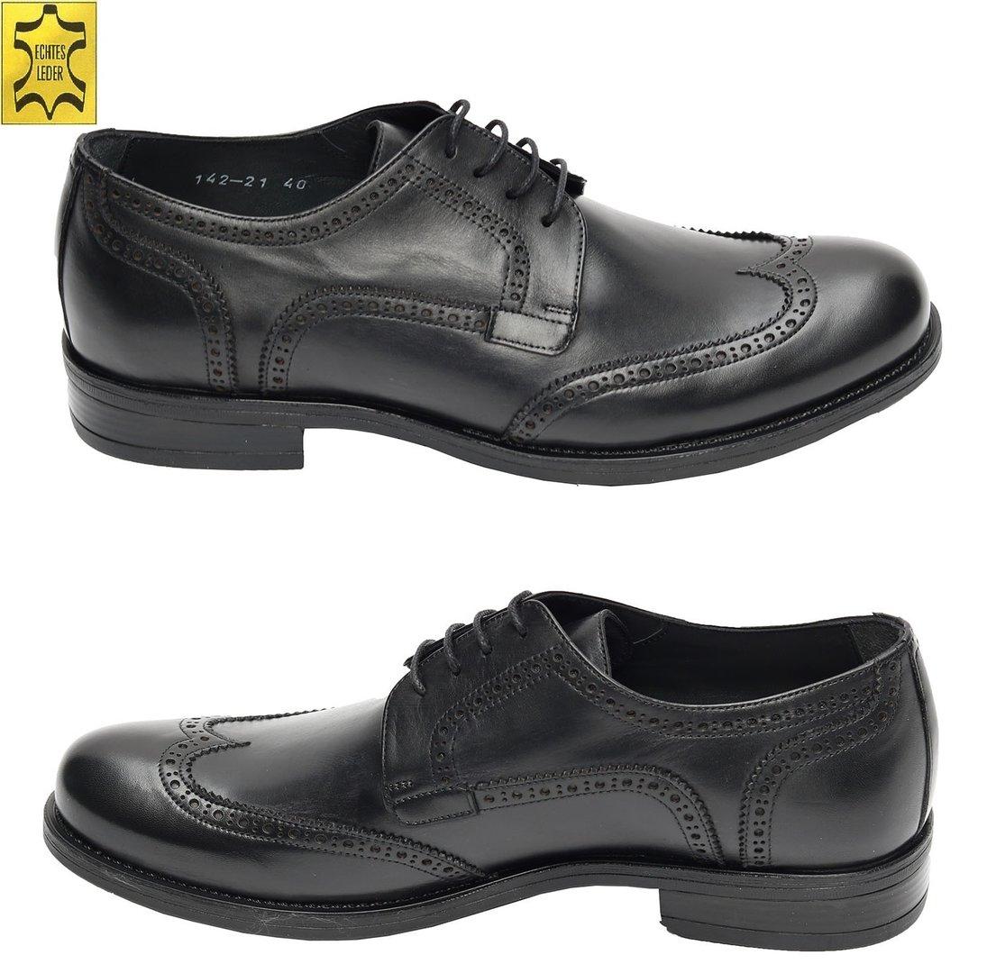 premium selection b6391 71f61 Budapester Herren Leder Schuhe Muga - Herrenausstatter Schuhe