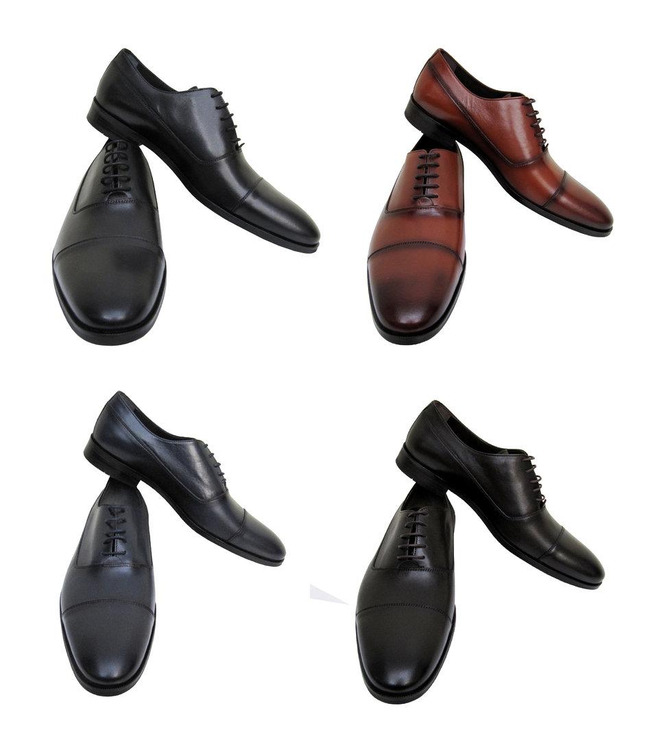 Elegante Herren Leder Schuhe Muga Herrenausstatter