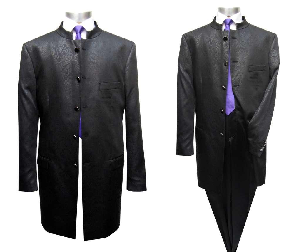 Redingote Homme Costume Satin - Costume Mmuga 064f0aae7c8
