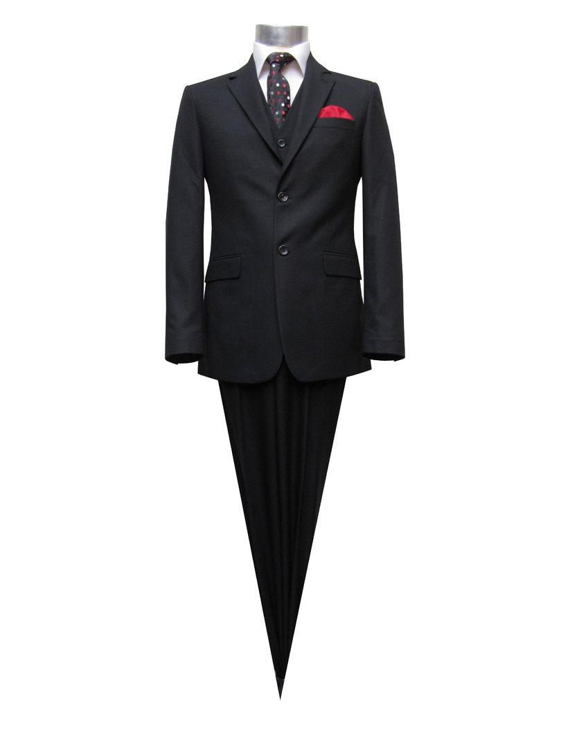 elegante muga 120s herren anzug 3 teilig herrenausstatter. Black Bedroom Furniture Sets. Home Design Ideas