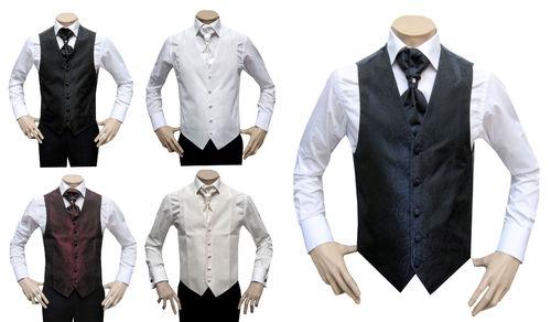 Costume de mariage Mmuga Gilet Plastron pour hommes 88c2126335d