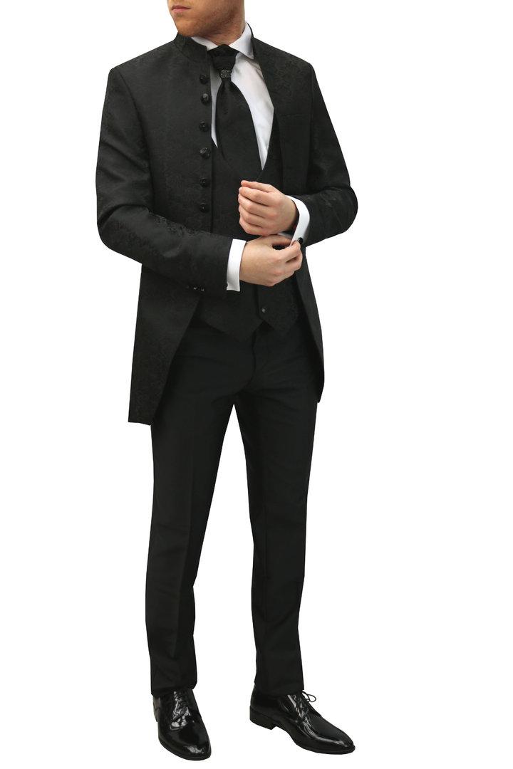Herren Cutaway Hochzeit Anzug 5-teilig