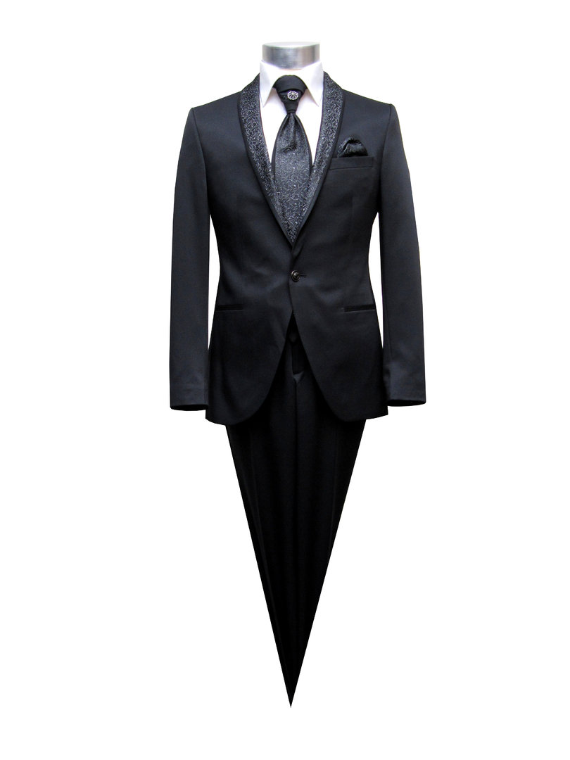 Wedding Suit Men Dark Blue Or Black Muga Wedding Clothing