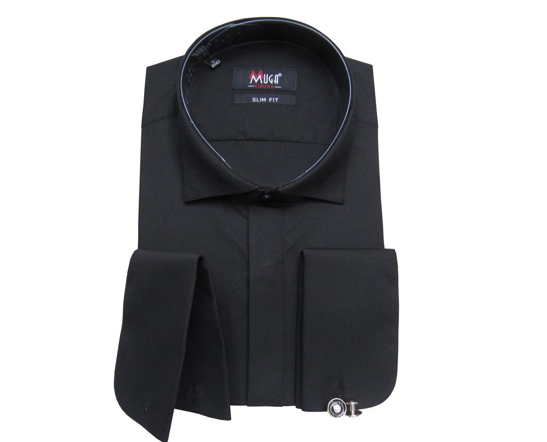 Fliege Manschetten S 2XL Herren Hemd Anzug Smoking Business