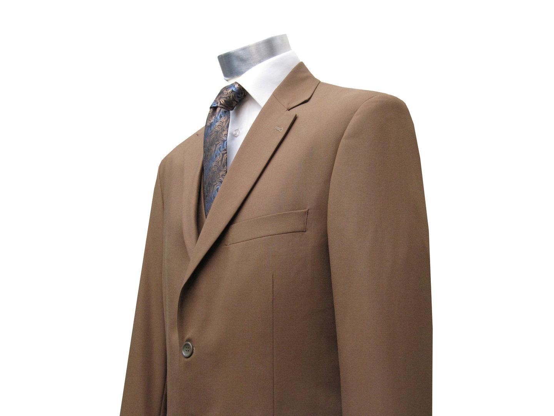 costume homme avec gilet nousset marron homme costume. Black Bedroom Furniture Sets. Home Design Ideas