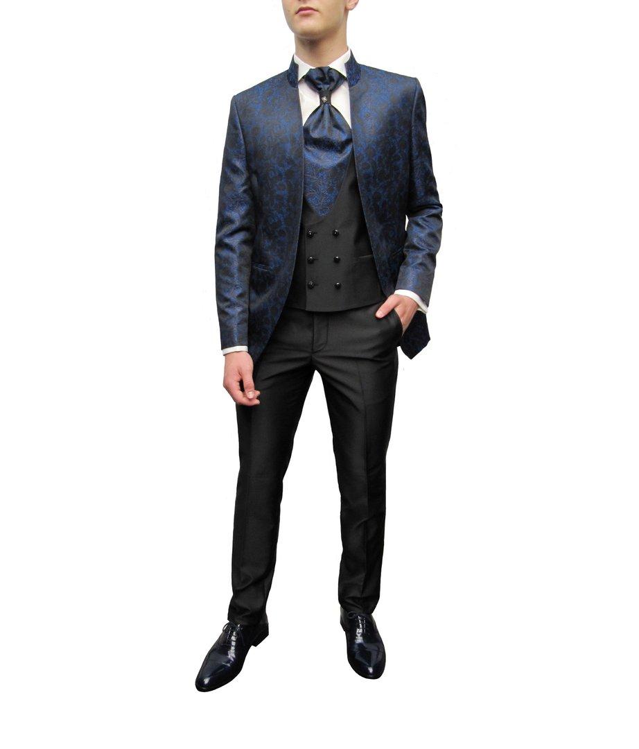 Stehkragen Gehrock Herren Anzug Hochzeitsanzug - Muga Gehrock