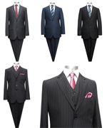 Mens-Suit-Pinstripe-Wool