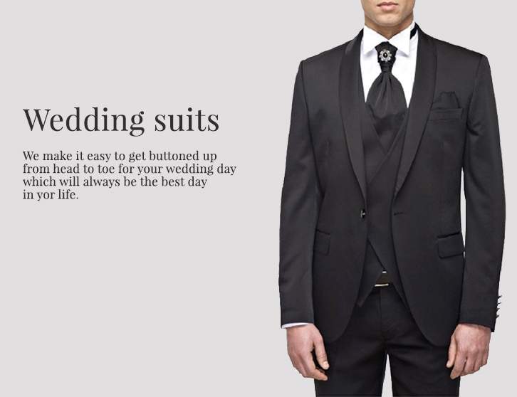 Wedding Suits by MMUGA